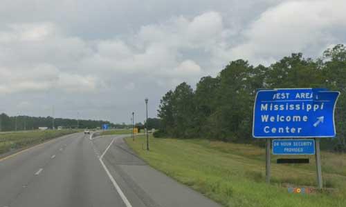 ms i10 rest area westbound mile marker 75