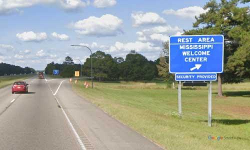 ms i59 rest-area northbound mile marker 3